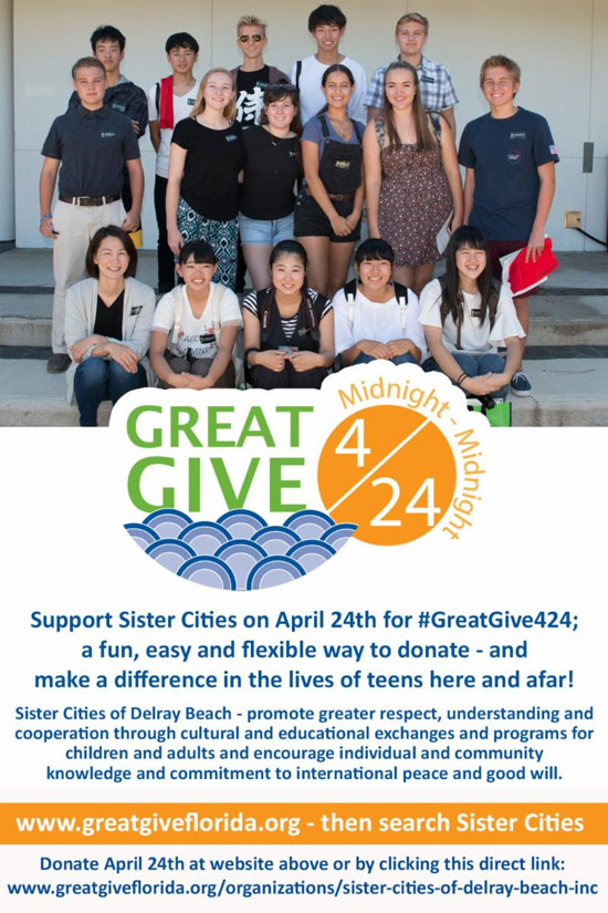 Join us for the Great Give